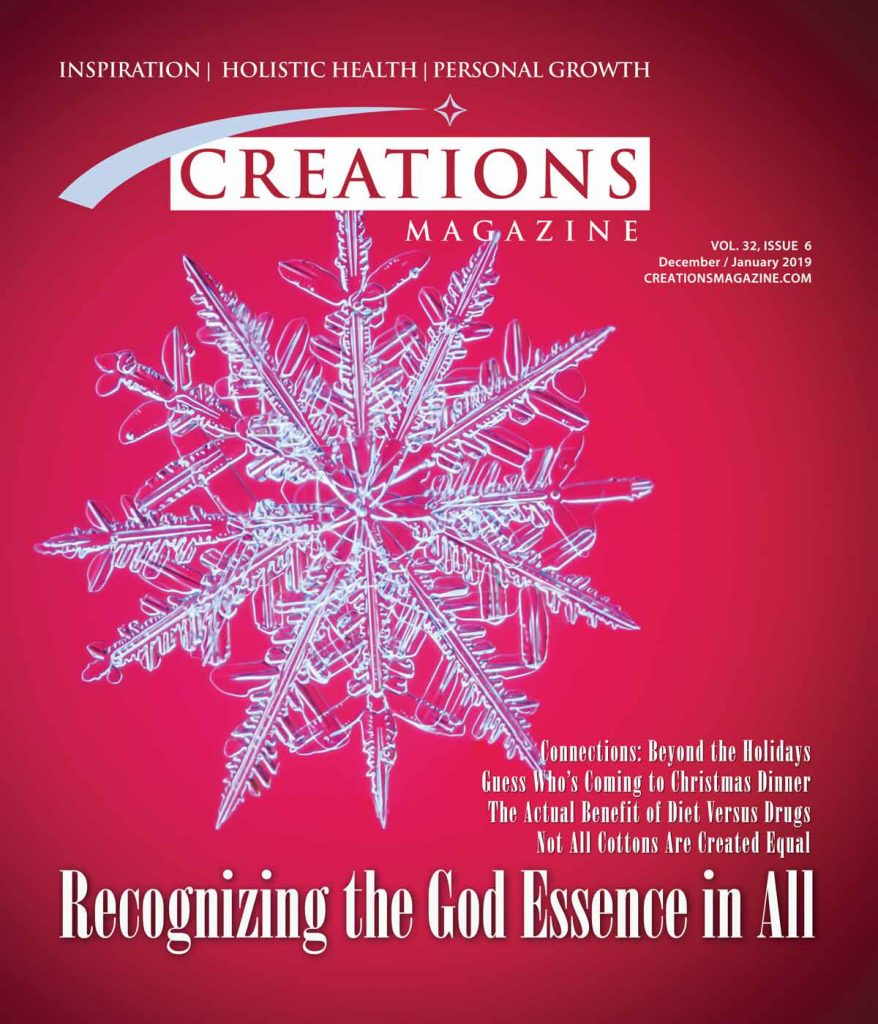 Creations Magazine Recognizing the God Essence in All