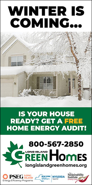 Winter is Coming...Is Your House Ready? Get a Free Home Energy Audit! 800-567-2850 Long Island Green Homes longislandgreenhomes.org