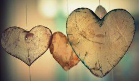 dangling hearts