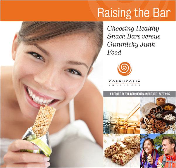 Raising the Bar Choosing Healthy Snack Bars versus Gimmicky Junk Food