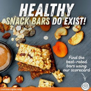 Healthy Snack Bars Do Exist! Find the best-rated bars using our scorecard