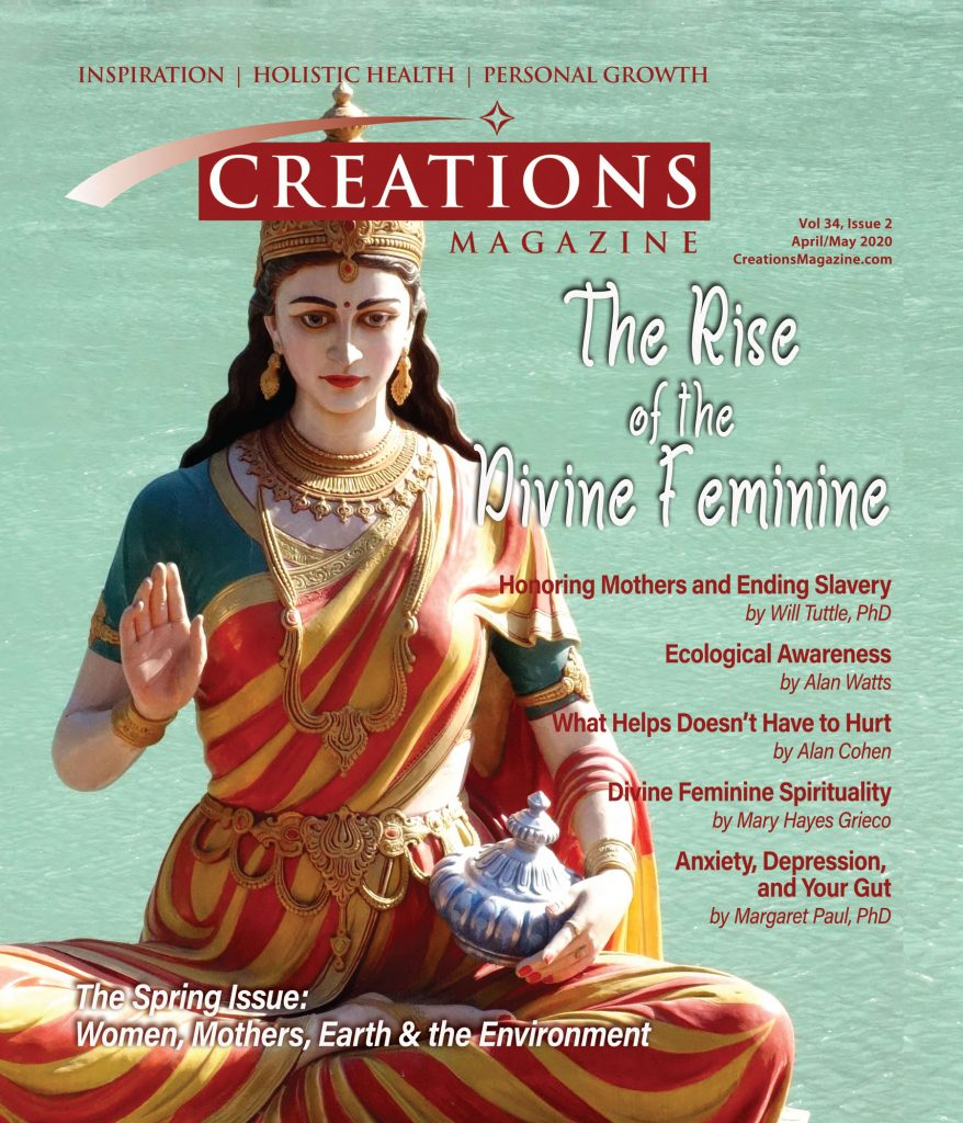 Creations Magazine April/May Issue The Rise of the Divine Feminine