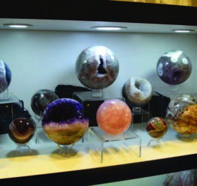 crystal display case